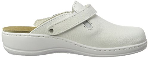 Hans Herrmann Collection Damen HHC Clogs Weiß (Bianco)