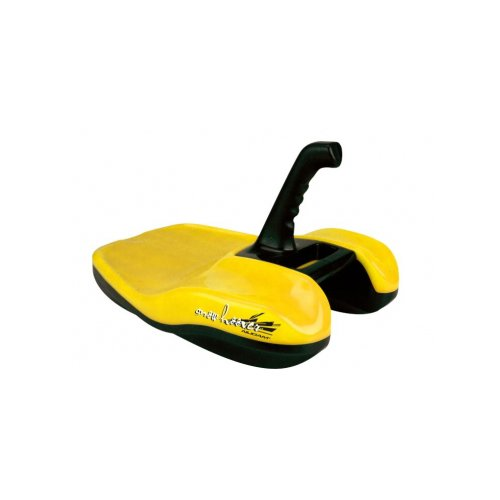 Aerodynamics Snow Hoover Downhill Thrill Sled Directional Control Joystick /Yellow by Aerodynamics