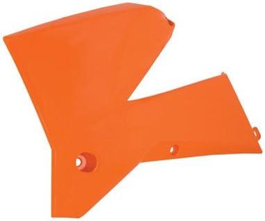 Polisport Radiator Scoops KTM Orange for KTM 200 XC-W 2006-2007