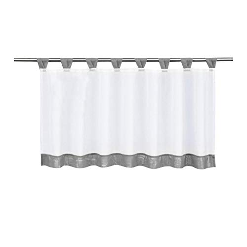 (86 York Sheer Voile Roman Shade Window Curtain Drapery Valancer Bedroom 24 Panel)