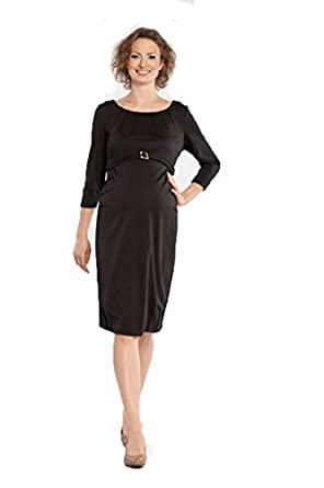 a94293289b99b 9Fashion Maternity Adella Maternity Dress (XSmall) at Amazon Women's ...