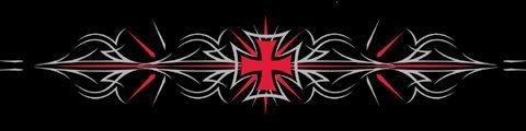 Zanheadgear Cooldanna 100 Percentage Cotton Tribal Iron Cross Head and Neck Tie