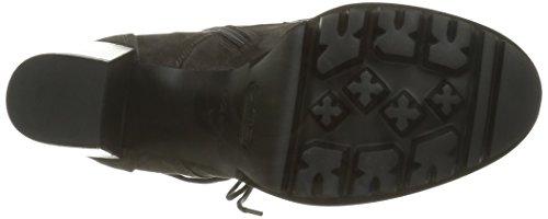Nu Dames 3196 Laarzen En Booties Bruin - Bruin (velours Afrika Borchie Nere)