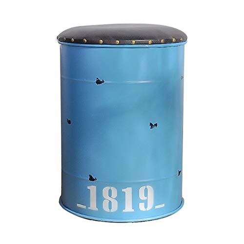 (Retro Trash can - Pedal Type - Wrought Iron - fire Hydrant Model Decoration bar Internet Cafe Large Storage Bucket with Cover)