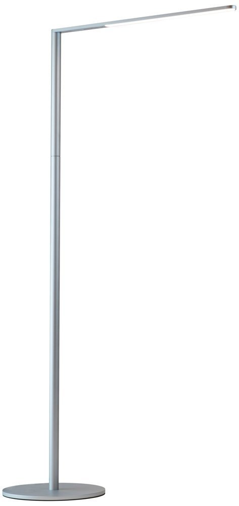 Koncept Lady-7 Silver LED Floor Lamp with USB Port by Koncept
