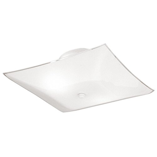 Westinghouse 66201 Semi-Flush Mount Square Ceiling Fixture -
