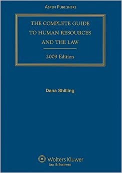 Book Complete Guide To Human Resources and the Law