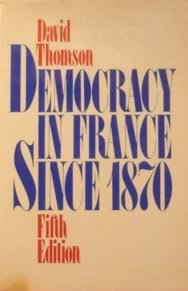 Democracy in France Since 1870.