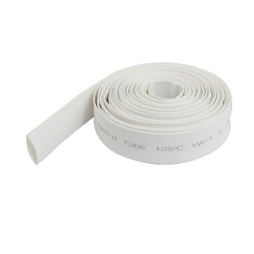 Uxcell a12072700ux0312 Ratio 2:1 Polyolefin Heat Shrinkable Tube, 4 m Long, 10 mm Diameter, (1' Diameter Tube)