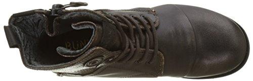 BunkerZip - Stivali da Motociclista Donna Marron (Moro)