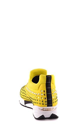Zapatillas Poliamida on Slip Ezbc056081 Mujer Amarillo Pinko 7tnYUIwqY