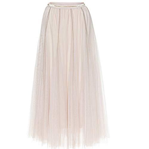 (for Dates Prom Party Petticoat Dance Elastic Waist Skirt Tutu)
