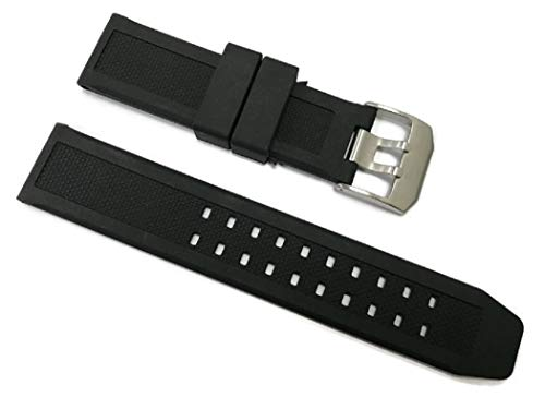 - 23mm Replacement Rubber Watch Band Strap Fits Luminox Navy Seal EVO 3050 8800 3950 Series CASIO Seiko