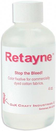 G&K Craft Retayne Color Fixative, 4-Ounce