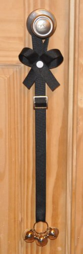 Potty Time Chimes with The Perfect Potty Training Solution DVD, Adjustable, Solid Black by Potty Time Chimes