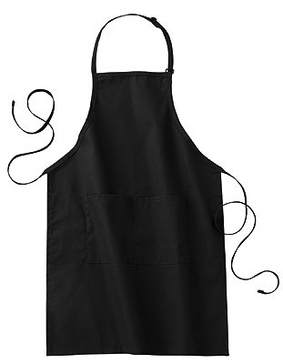 Loop Neck Bib Apron - 1