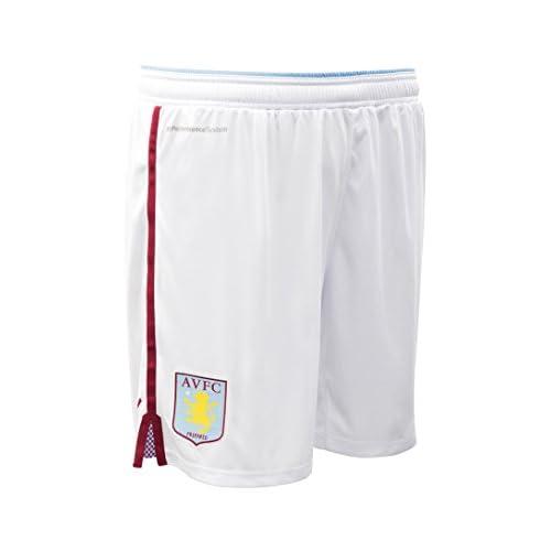 2015-2016 Aston Villa Home Football Shorts (Kids)