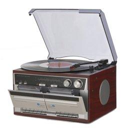 【まとめ 3セット】 とうしょう Wカセットレコードプレーヤー TT-386W   B07KNTTX5V