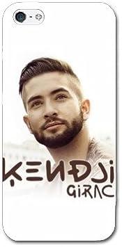 Coque Iphone 5c People - - Kendji Girac Blanc -