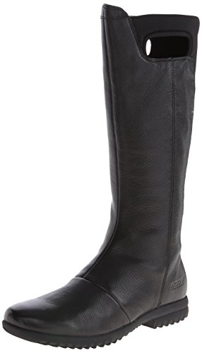Tall Women's Boot Bogs Leather Black Waterproof Alexandria vE4aqzwH