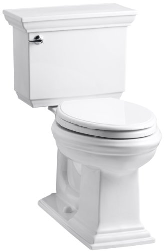 Piece Chair Height Elongated Toilet - 4
