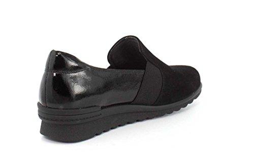 Rockport Cg7866 Black Suede Basse Donna Espadrillas 1zxRzS