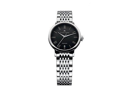 Maurice Lacroix Les Classiques Tradition Ladies Automatic Watch, Black, Bracelet