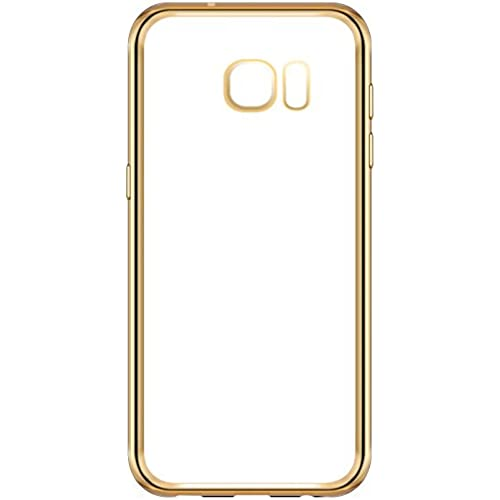 Yiwanda Slim Fit Anti-slip Anti-Scratch Soft TPU Clear Back Cover Cell Phone Case for Samsung Galaxy S7 (Gold) Sales