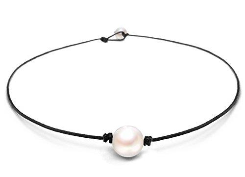 Suyi Genuine Leather Turquoise Necklace