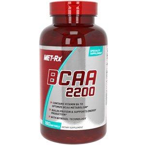 Met-Rx BCAA 2200, 180 comte