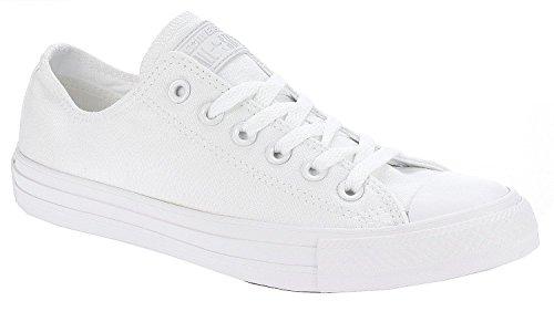 Converse - Zapatillas para hombre Blanco Monocromo