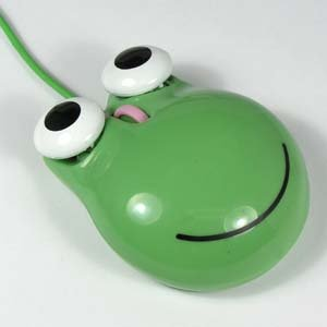 Frog Mouse USB, 2-button + scroll
