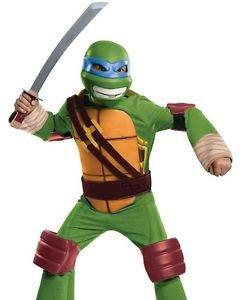 LanLan Kids Leonardo Teenage Mutant Ninja Turtles Halloween (Making A Ninja Costume)