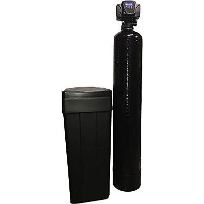 Fleck WS48 48k 5600SXT 48,000 Grain Best Selling Water Softener Digital Sxt Metered Whole House System, Black