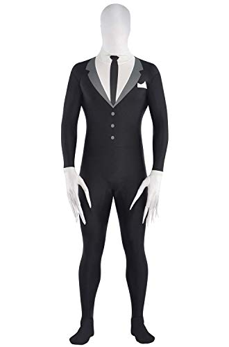 Amscan Teen Slender-Man Partysuit - Small (up to 4'5