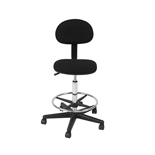 Offex Home Office Drafting Chair Black by Offex