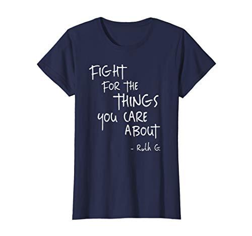 Womens Notorious RBG Ruth Supreme Court Feminist Political T-Shirt