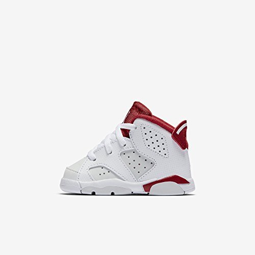 separation shoes 0f0d3 89467 Air Jordan Retro 6 Alternate Mid Infant Toddler Lifestyle Shoe (White Gym  Red Pure Platinum)  Size  7c - Buy Online in Oman.   Apparel Products in  Oman ...