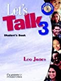 Let's Talk 3 Student's Book, Leo Jones, 0521776929