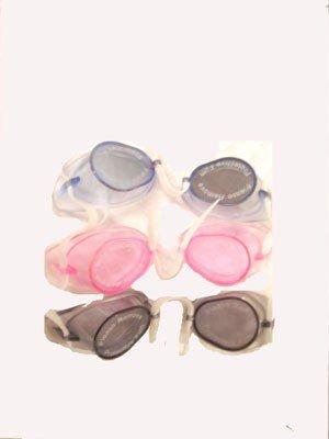Schwedischen Brille Silikon Dual–Einzige, Clear