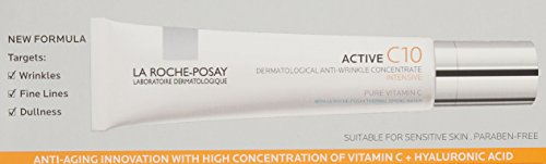 La Roche-Posay Active C10 Dermatological Anti-Wrinkle Concentrate Vitamin C Serum, 1.01 oz.