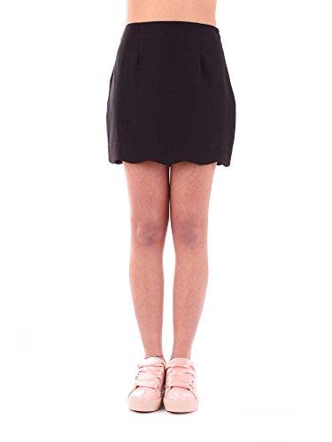 Silvian Heach Femme CVP18071GONERO Noir Coton Jupe