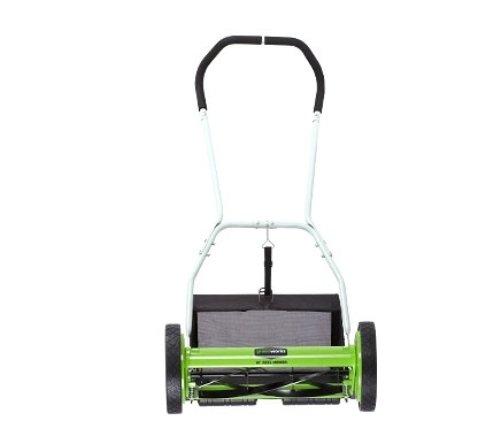 Greenworks 16 Inch Reel Lawn Mower Walk Behind Lawn Mowers