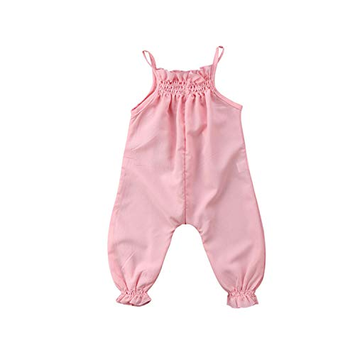 Jinbaolong Sale Newborn Infant Baby Girls Floral Rompers Flower Tassel Baby Girls Clothing Summer Baby Costumes ()