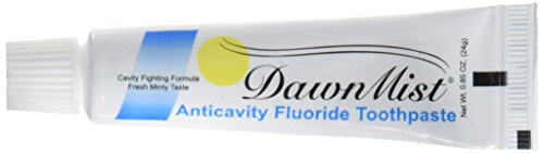 Anticavity Flouride Toothpaste - 0.85 Ounce Tube - Bulk Pack 144 tubes (Best Toothpaste For Chemo Patients)