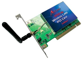 airlink 802.11g wireless pci adapter driver
