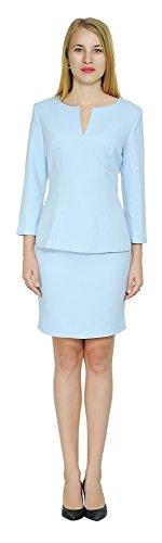 - Marycrafts Women's Elegant Skirt Suit Set Work Office Business Wear 12 Mint