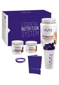 VivriTM Essential Nutrition System (Shake Vanilla - Caffe Latte - Pineapple Orange) by Vivri