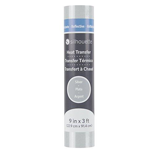 Silhouette Reflective Heat Transfer - Silver