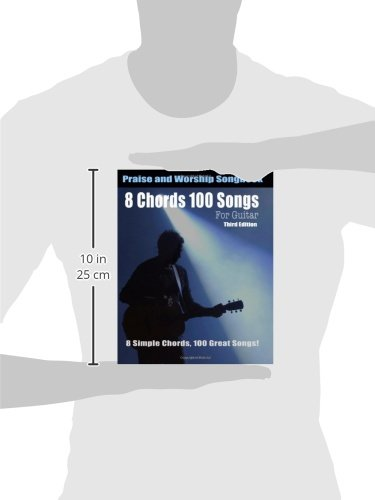 Amazon 8 Chords 100 Songs Worship Guitar Songbook 8 Simple